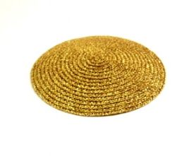 Gold Braid Hat Base in 2 Sizes